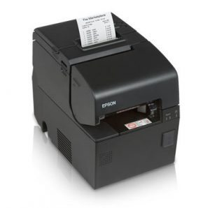 black Epson POS printer