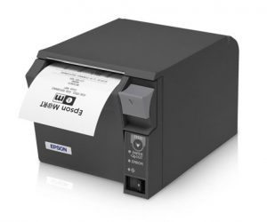 Epson Receipt Printer with Receipt