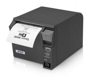 Epson Receipt Printer with Receipt