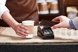 App pay in a coffee shop