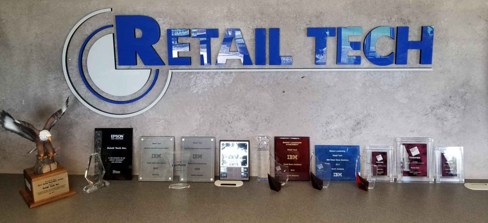 Retail Tech, Inc. Awards
